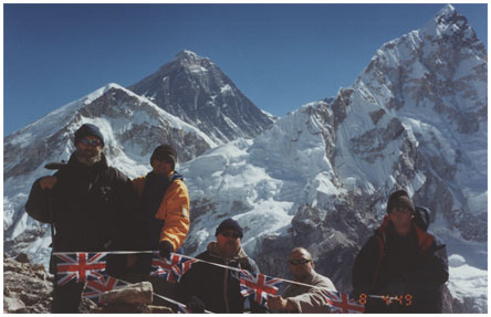 Climbing Everest for Fund Raising