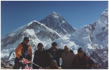 Painting and Decorating Mount Everest